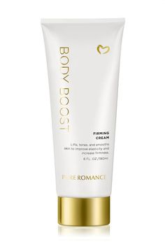 Body Boost Firming Cream. Caffeine infused cream wakes up cells to heal cellulite!  PureRomanceByHoffman.com