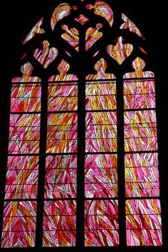 Leaded Glass, Stained Glass Art, Stained Glass Windows, Mosaic Glass, Fused Glass, Rose Window, Window Art, Catholic Relics, L'art Du Vitrail