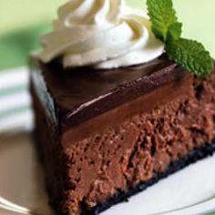 Chocolate Truffle Cheesecake IX Recipe