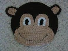 Monkey Bulletin Board Crochet Pattern