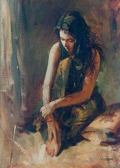 John Fernandes, Figurative Paintings