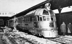Farewell run of Pioneer Zephyr, 1960