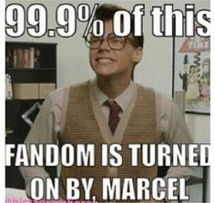 NO I LOVE HARVEY..... ok maybe a little bit of Marcel.