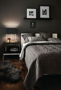 Copenhagen modern bed mixes with your bedroom furniture, with your choice of wood and base combinations for your bedroom furniture set.