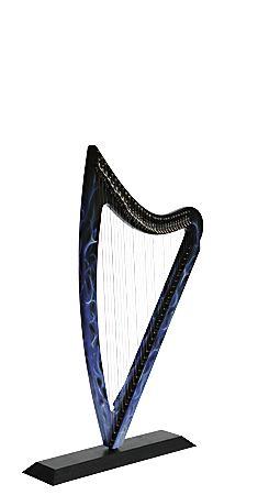 Camac DHC Blue Light. Mini electric harp