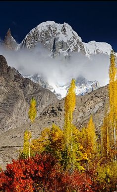 Hunza Peak . Pakistan