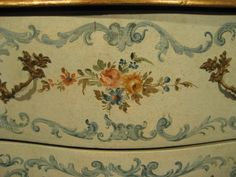 Antique Italian Hand Painted Chest - Furniture - The Collection - Default Store View   Olde Chicago Ltd. Antiques