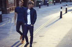 See the Ben Sherman Autumn/Winter 2017 Advertising Campaign at FashionBeans. See the full collection of images photographed by Matthew Brookes featuring Aaron Vernon & Charlie James & Max von Isser for Ben Sherman. Winter 2017, Fall Winter, Autumn, Aw 2017, Ben Sherman, Mod Fashion, Advertising Campaign, Pants, Men