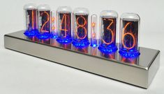 I would REALLY like one of these! Super nice SteamPunk feel to it :-) Nocrotec Shop - IN-18 Blue Dream Nixie Clock