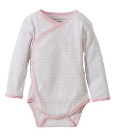 Look what I found on #zulily! Blossom Alphabet Organic Wrap Bodysuit - Infant #zulilyfinds