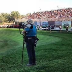 The sports photography legend that is David Cannon at the Omega Dubai Desert Classic #dubai #abudhabi #golf #uaegolf #uae #emirates #golfer #golfing #mydubai #socialgolf #sun #happy #like #smile #instagood #instagolf #love #tagsforlikes #follow #iphone #p