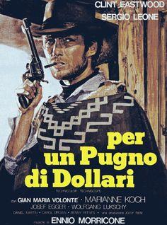 1964 - Por un puñado de dólares (Per un pugno di dollari) - Sergio Leone