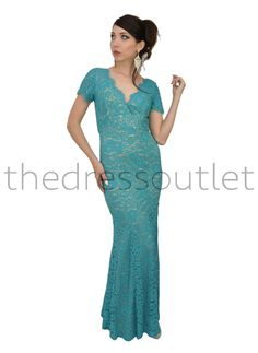 Long Mother of the Bride Lace Plus Size Evening Gown Formal Dress