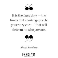 After a difficult 2015, Facebook COO Sheryl Sandberg continues to inspire resilience in women throughout the world with her undeniable strength. #IncredibleWomen #PORTERMagazine