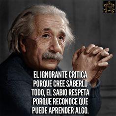 Inspirational Phrases, Motivational Phrases, Smart Quotes, True Quotes, The Success Club, Quotes En Espanol, Albert Einstein Quotes, Typography Quotes, Spanish Quotes