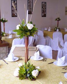 Centro de mesa primera comunion