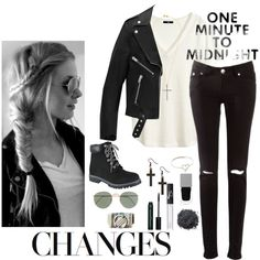 A fashion look created by Maleja Cruz featuring . Browse and shop related looks. Bare Escentuals, Givenchy, Yves Saint Laurent, Polyvore, Sunday, Fashion Looks, Skinny Jeans, Gray, Nars Cosmetics