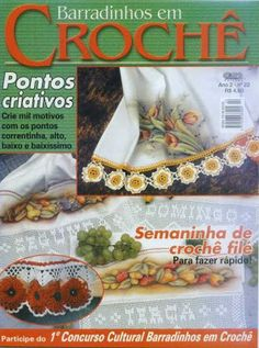 ♥Croche Ponto Cruz ♥ REVISTAS♥