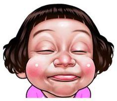 Best Funny Face Koleksi wajah-wajah lucu - Stiker LINE Cartoon Smile, Cartoon Gifs, Cartoon Faces, Meme Faces, Funny Angry Face, Funny Happy Face, Cute Gif, Funny Cute, Funny Face Drawings