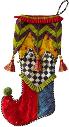 Mackenzie Childs | Christmas Stockings WANT THESE IN MY LIFE!