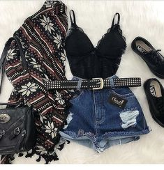 Swans Style is the top online fashion store for women. Shop sexy club dresses, jeans, shoes, bodysuits, skirts and more. Girls Fashion Clothes, Summer Fashion Outfits, Cute Summer Outfits, Edgy Outfits, Cute Casual Outfits, Outfits For Teens, Girl Outfits, Mode Kpop, Mein Style