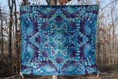 Crown Chakra Mandala Star Tapestry Tie Dye by WonderlandRevival Tie Dye Tapestry, Mandala Tapestry, Mandala Art, Shibori Tie Dye, Tie Dye Outfits, Textiles Techniques, Crown Chakra, How To Dye Fabric, Tye Dye