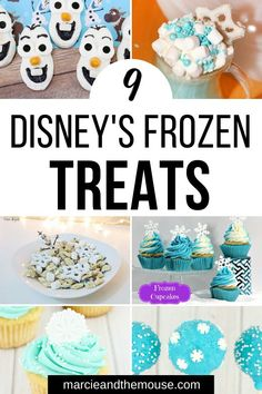 Feb 2020 - Looking for easy Disney recipes to celebrate Frozen Find out 9 Cutest Disney Frozen Treats for your next Disney party Disney Frozen Treats, Disney Food, Disney Trivia, Disney Diy, Disney Crafts, Single Serve Desserts, Desserts For A Crowd, Great Desserts, Frozen Cake Pops