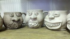 face mugs, do any of these look familiar?