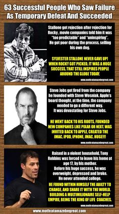 What Famous People Failed Before Success? Here Are 63 Examples Of Successful People Who Saw Failure As Temporary Defeat And Succeeded Motivational Quotes For Students, Motivational Stories For Employees, Inspirational Stories Of Success, Success Quotes, Inspirational Quotes, Success Story, Servant Leadership, Leader In Me, John Maxwell