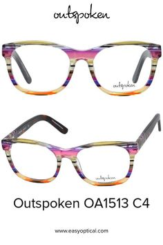 OUTSPOKEN OA1513 C4 Eyewear, Glasses, Easy, Style, Swag, Eyeglasses, Eyeglasses, Sunglasses, Eye Glasses