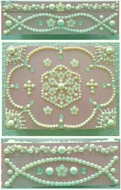 Carole Carter Decorated Shabby Chic Boxes