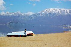 Ohrid Lake in Pogradec, Albania     la-jolie-julie.blogspot.com