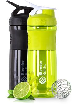 BlenderBottle SportMixer™ | Water Bottle and Shaker Cup Hybrid with recipe link