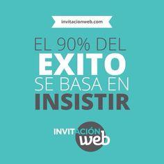 #exito #frase #quote #inviacionweb #motivacion