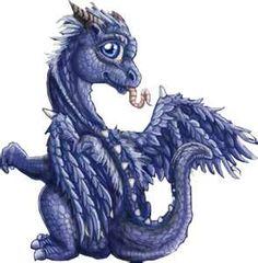 Dragon baby, might use its characteristics to make my next tattoo