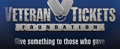 The Veteran Tickets Foundation is a non-profit, tax-exempt organization dedicated to giving back to those who gave so much. Vet Tix teams up with major sports teams, leagues, promoters, organizations, venues and everyday ticket holders to provide free and discounted tickets to Veterans, Survivors and Active Duty Military in the United States.