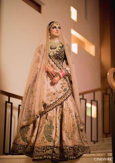 Bridal Outfits, Bridal Dresses, Wedding Dress, Indian Fashion Dresses, Indian Outfits, Bridal Lehenga Collection, Trendy Outfits, Fashion Outfits, Indian Bridal Wear