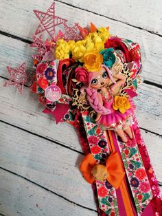 Colores otoño catrina tradiciones moño bow bincha Balerina, Abundance, Headbands, Bows, Wreaths, Fall, Home Decor, Cold Porcelain, Hair Bows