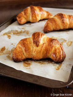 homemade croissants | ginger bear kitchen