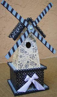 Running With Scissors: Windmill Birdhouse