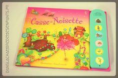 Livre jeunesse - Casse-noisette - Editions Usborne - livre sonore enfants