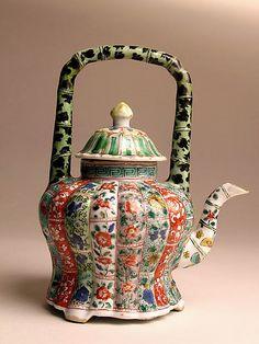 Chinese teapot – Qing dynasty (1644–1911), Kangxi period (1662–1722)