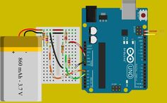 ability to communicate the state of charge of battery via I2C