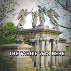 The TARDIS was here