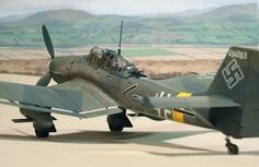 Ju-87 G Kanonnenvolge. Stuka (dos cañones BK 3,7 cm Flak 18)