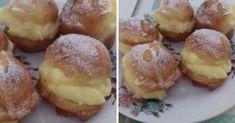 citromkremes-tizperces-fankocskak Viera, Hamburger, Muffin, Breakfast, Canning Jars, Morning Coffee, Muffins, Burgers, Cupcakes