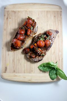 new york strip steak with balsamic roasted cherry tomatoes keys to the cucina 2