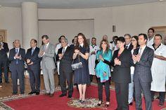 Princesa Lalla Salma preside à cerimónia de assinatura do projecto de acordo para oferecer medicamentos inovadores aos pacientes pobres
