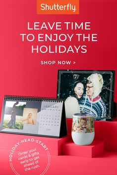 Create a thoughtful, memorable gift for everyone on your list and order early to make sure it arrives in plenty of time for the holidays.