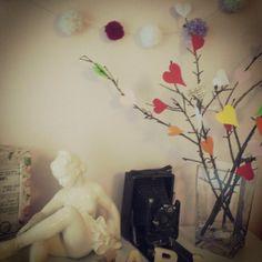 hearts, room decor ... diy